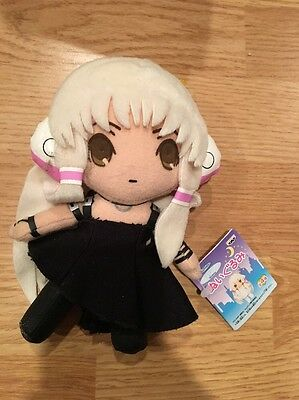 Chii Chobits Black Dress CLAMP Plush doll Japan Banpresto