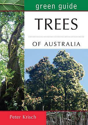 Green Guide to Trees of Australia by Peter Krish Paperback Book Free Shipping!