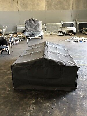 CANVAS COVER for 6x4 600mm TRAILER CAGE