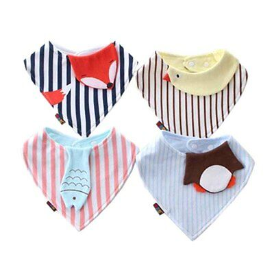 Kids Toddler Triangle Scarf Bib Eatting Clean Scarfs Baby Scarf Cool Accessories