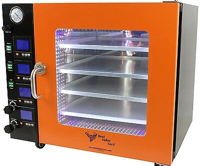 1.9Cf Stainless Steel Vacuum Oven - Touch Screen - 11 Shelves Standard