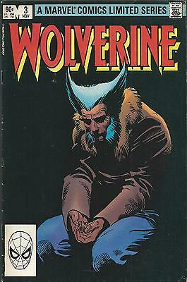 Wolverine limited serie 3.November 1982. Marvel