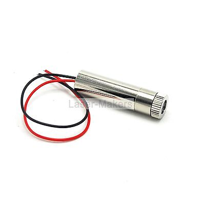 25mw 808nm 810nm IR Infrared Dot Focusable Laser Diode Module w/ Driver In