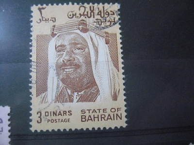 Timbre State Of Bahrain 3 Dinar Obl. 1980