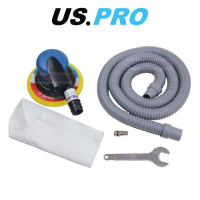 "US PRO Tools 6"" 150mm Air Dust Free DA Orbital Palm Sander With Dust Extractor"