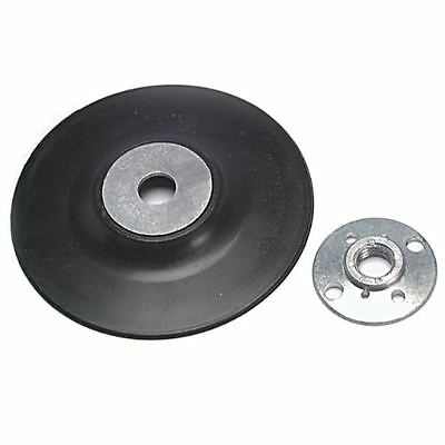 Toolzone Rubber Sanding-Sander Disc Backing Pad For 115 mm Angle Grinders AB151