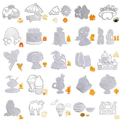 Metal Cutting Dies Stencil Album Paper Cards Embossing Scrapbooking Craft DIY