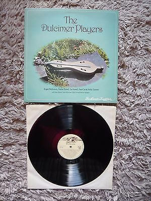 V/A The Dulcimer Players UK Transatlantic 1978 Folk Vinyl LP 1st Pressing A1/B1