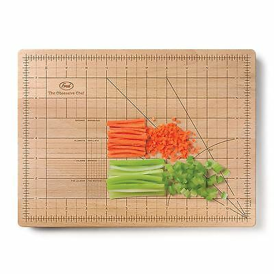 Fred The Obsessive Chef Bamboo Cutting Chopping Board Kitchen