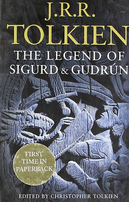 The Legend of Sigurd and Gudrún, Good Condition Book, Tolkien, J. R. R., ISBN 00
