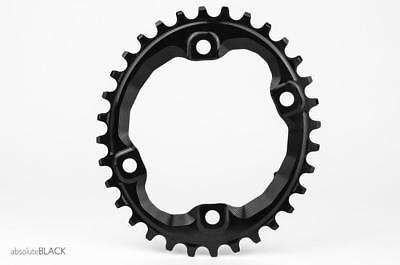 AbsoluteBlack Shimano XT M8000/MT700 Narrow/Wide Oval Chainring | 34T | Black