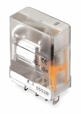 Dayton Plug In Relay, 5 Pins, Square Base Type, 15A @ 277VAC/28VDC Contact