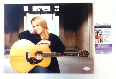 Mary Chapin Carpenter Signed 11 x 14 Color Photo Pose #1 JSA Auto