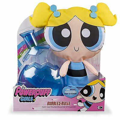 The Powerpuff Girls 12 Inch Puff Out Plush - Bubbles