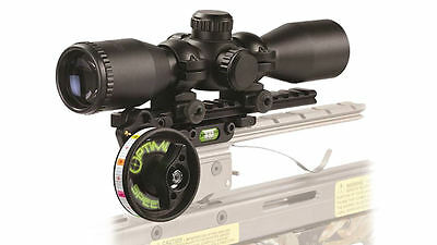 HHA ARCHERY-HHA Optimizer Lite Speed Dial w/Optimizer X 3x32 Illum Scope