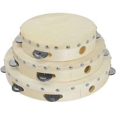 Tiger Tambourines Single Row