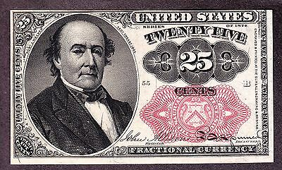 US 25c Fractional Currency 5th Issue Pos B 55 FR 1309 Ch CU