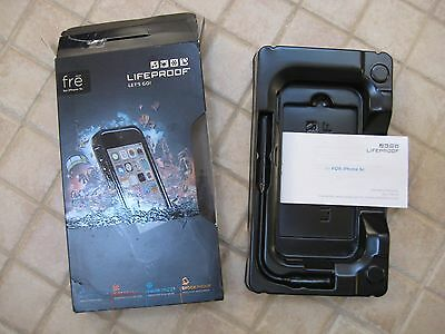 LIFEPROOF FRE BOX + INSTRUCTIONS ONLY FOR iPHONE 5C (NO CASE OR ACCESSORIES)
