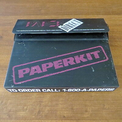 Paper Direct Paper Kit Sample Pack Open Box Stationary Brochures Cardstock Kids