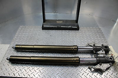00-01 Honda Rvt1000r Rc51 Sp1 Pair Front Forks Straight