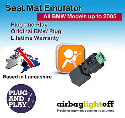 Seat Occupancy Mat Emulator For BMW 5 Series E60 E61 Airbag Sensor Bypass