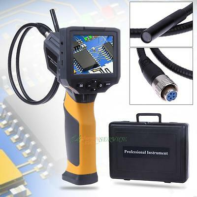 "3.5"" TFT Color IP67 Industrial Video Borescope Endoscope Tube Inspection Camera"