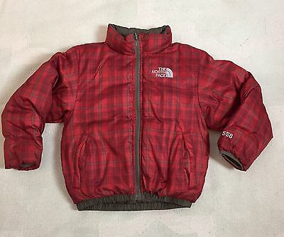 Boy's Reversible The North Face Down Jacket 550 Full Size XXS/ 5