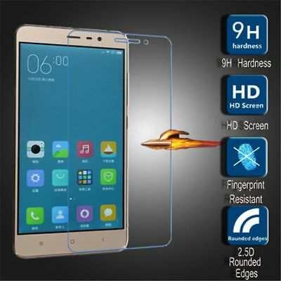 1X 100% Real Premium 9H Tempered Glass Film Screen Protector for Xiaomi Models