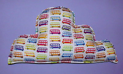 CLOUD CUSHION  London Buses , baby nursery/ boy bedroom, baby shower gift