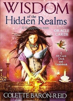 """wisdom Of The Hidden Realms Oracle Cards"" By Colette Baron-Reid"