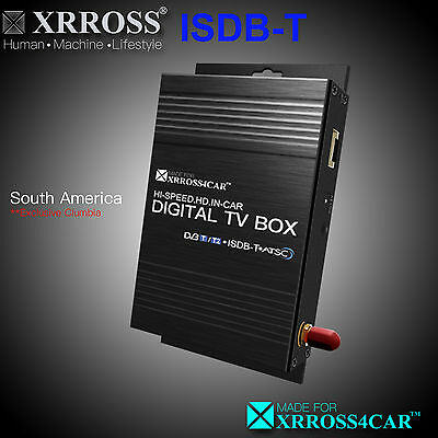 XRROSS Car Digital TV Receiver Antenna ISDB-T 1SEG for Brazil and South America