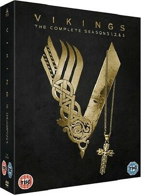 The Vikings Complete series 1 - 3 Seasons - Box set - NEW & SEALED - 9 DVDs