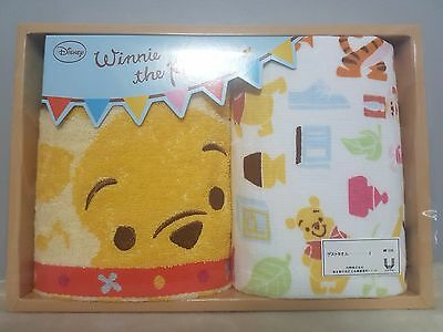 Disney Winnie the Pooh Gift Towels Set from Japan - Brand New
