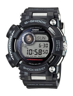 CASIO G-Shock FROGMAN GWF-D1000-1A GWFD1000-1A Depth Sensor Multi Band 6 !