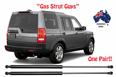 New Pair Tailgate Window Gas Struts Suit Land Rover Discovery 3 and 4