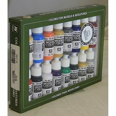 Vallejo 70110 Napoleonics 16 Colour Acrilic Paint Set