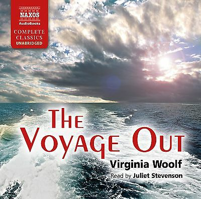 The Voyage Out - Virginia Woolf Juliet Stevenson -  NAXOS AUDIO CD  - NEW  13CDS