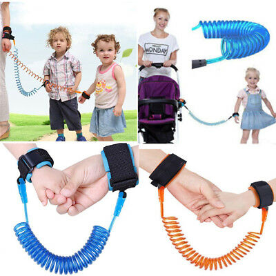 Child Kids Anti-lost Safety Leash Wrist Link Strap Reins Traction Rope 1.5m