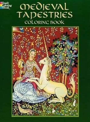 Coloring Book For Adults Beauty Unicorns Knights Design Anti Stress Relaxing Fun