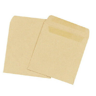Plain Manilla Self-Seal Wage Envelope | 108 x 102mm