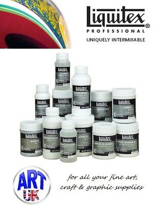 Liquitex EFFECTS MEDIUMS professional artists acrylic paint colour additives