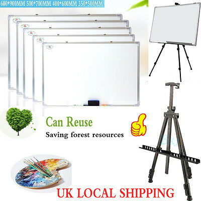 Artist Field Studio Painting Easel Tripod Display Stand + White Board Recyclable