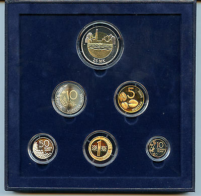 Finland 1997 Official Coin Mint Set KMS Proof !!!