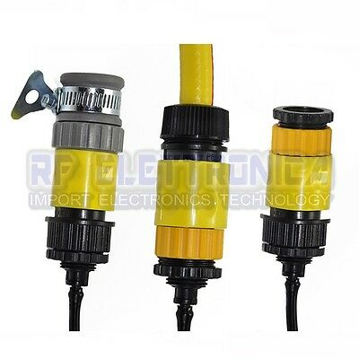 1/2 Or 3/4 Inch Tap Quick Connector Garden Hose Adapater Fitting