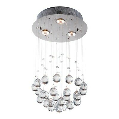 Zuo Modern Pollow Ceiling Lamp, Clear - 56028