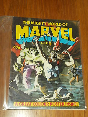 Mighty World Of Marvel Special British Comic 1983 Thor Hulk Scarce^