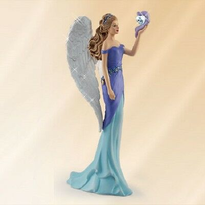 Angel of Faith - Angels of Caring Figurine Thomas Kinkade  Bradford Exchange