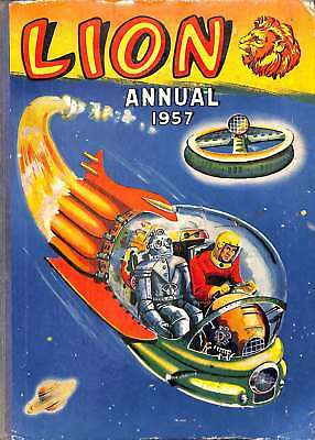 Lion Annual 1957, Acceptable Condition Book, Various, ISBN