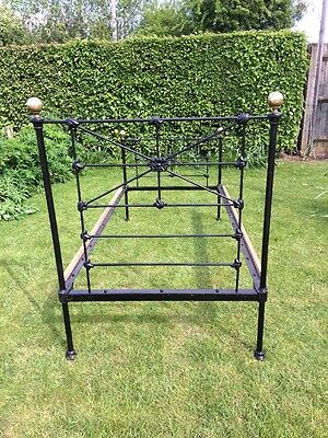 Antique Single Iron Bedstead