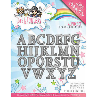 Alphabet - Tots and Toddlers - Stanzschablone von Yvonne Creations (YCD10096)